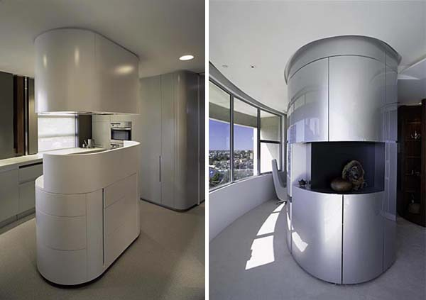 Darling Point apartment 15 Contemporary Round Apartment with Astounding Skyline Views of Sydney