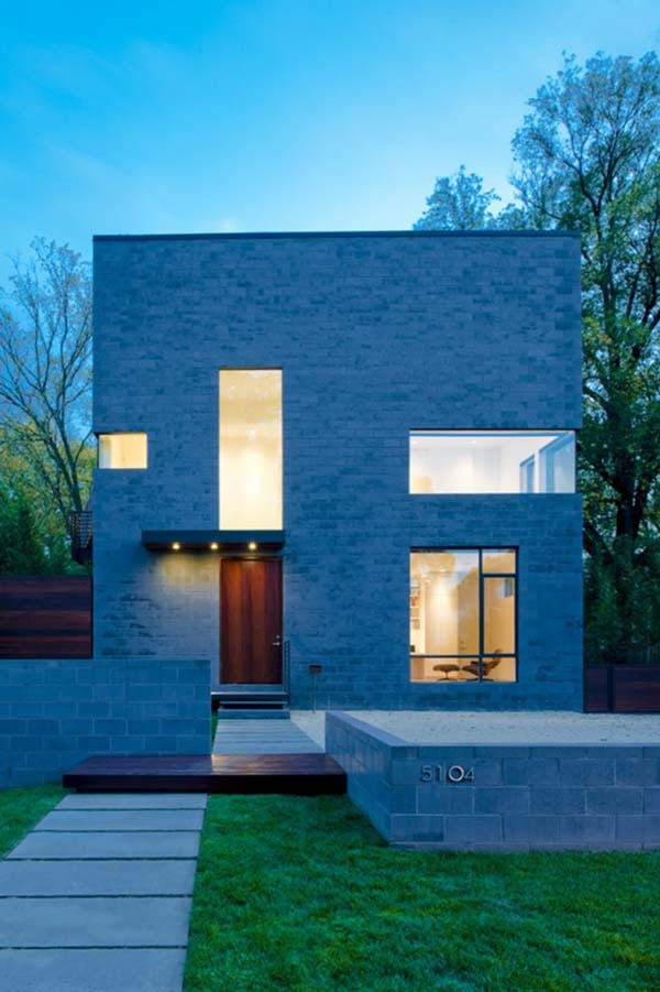 Comfortable And Minimalist Cube Shaped Home With Modern Features