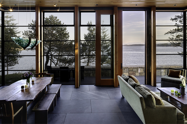 North Bay Residence 10 Modern Residence Overlooking the North Bay by Prentiss Architects