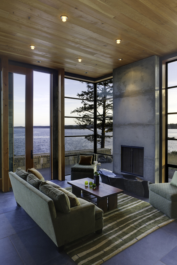 North Bay Residence 9 Modern Residence Overlooking the North Bay by Prentiss Architects