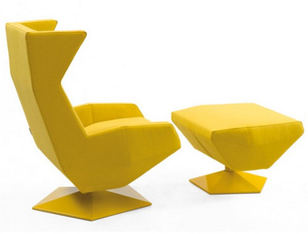 Oru Chair Freshome01 Original and Modern Armchair Inspired by the Art of Origami