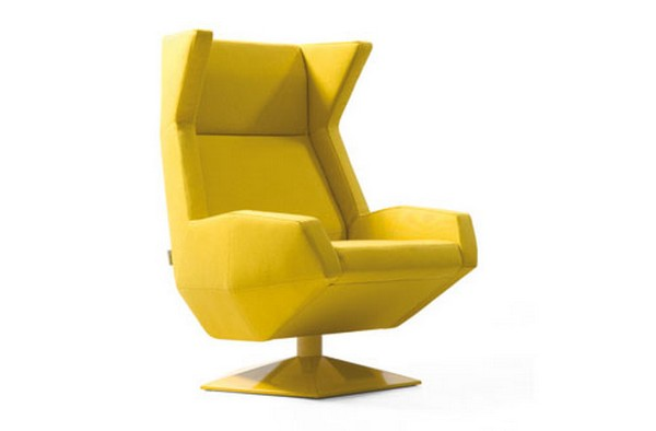Oru Chair Freshome02 Original and Modern Armchair Inspired by the Art of Origami