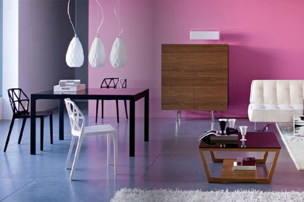 bold pink How to Tastefully Go Bold in your Interiors