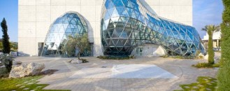 Contemporary Structure for Dali's works: Salvador Dali Museum