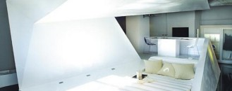 "Playing with Space Perceptions: The Incredible ""Folded"" Apartment"