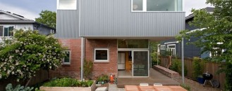 Modern and Practical Addition to a Seattle Brick Bungalow