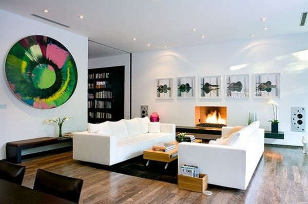 kent 24th liv2 Energy and Art in a Fabulous Contemporary Pool Home