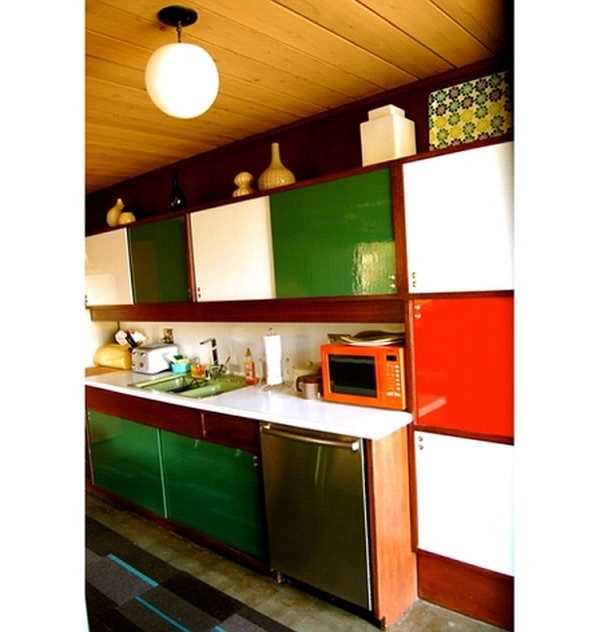 Kitchen planning and design unique kitchen cabinet styles for Mid century modern kitchen cabinets