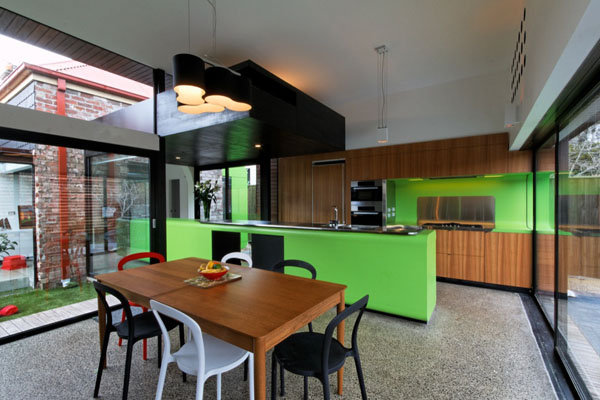 mash house 28 Surprising and Dynamic Transformation of a Victorian Residence