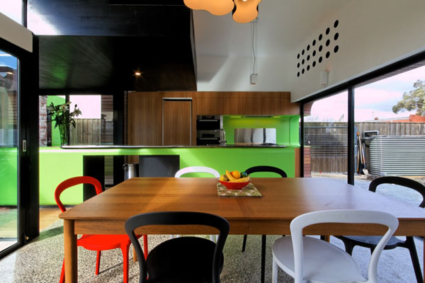 mash house 6 Surprising and Dynamic Transformation of a Victorian Residence
