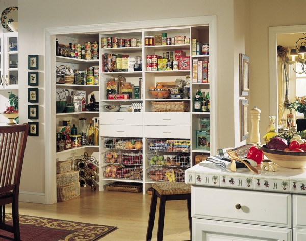 How To Add Functional Space To Your Kitchen Pantry Freshome Com