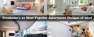 Freshome's 10 Most Popular Apartment Designs of 2010