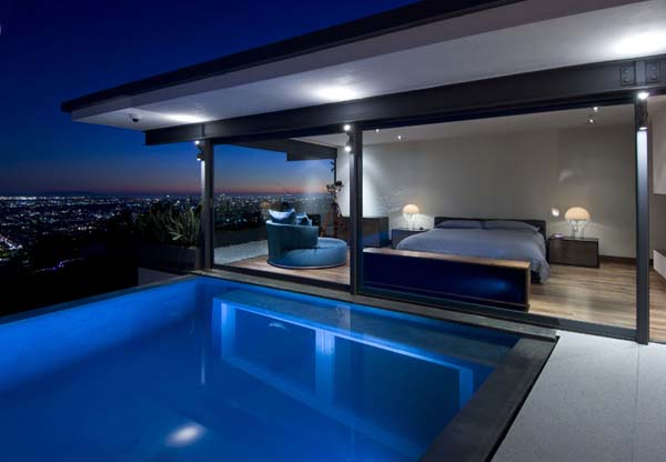 9010 Hopen House 16 Breathtaking Residence in the Hollywood Hills Featuring Stylish Interiors