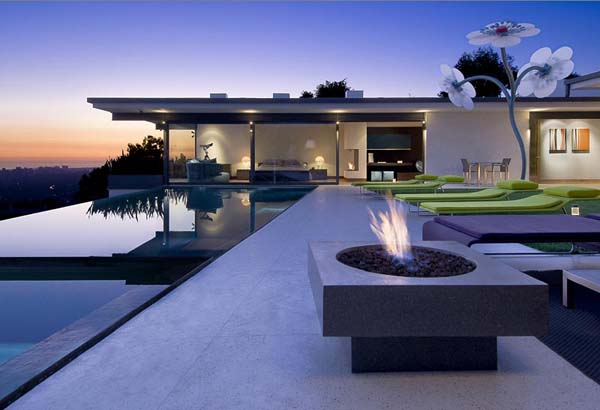 9010 Hopen House 2 Breathtaking Residence in the Hollywood Hills Featuring Stylish Interiors
