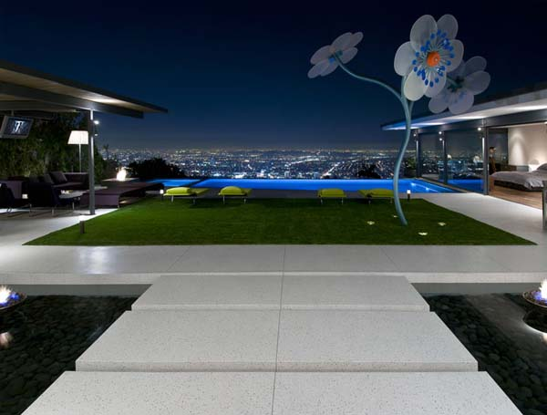 9010 Hopen House 3 Breathtaking Residence in the Hollywood Hills Featuring Stylish Interiors