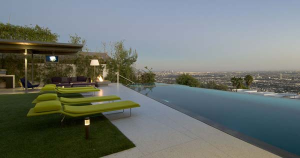 9010 Hopen House 4 Breathtaking Residence in the Hollywood Hills Featuring Stylish Interiors
