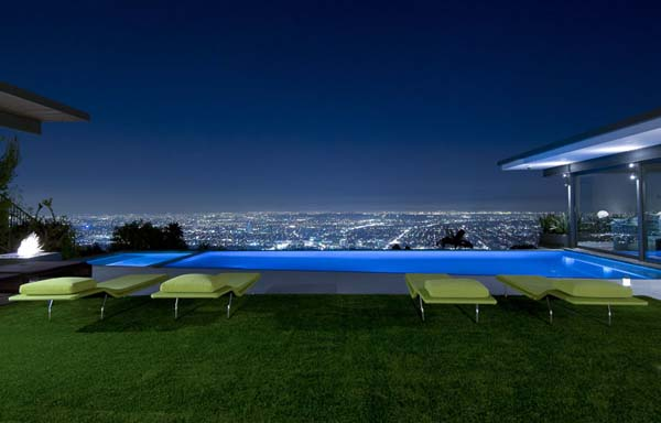 9010 Hopen House 5 Breathtaking Residence in the Hollywood Hills Featuring Stylish Interiors