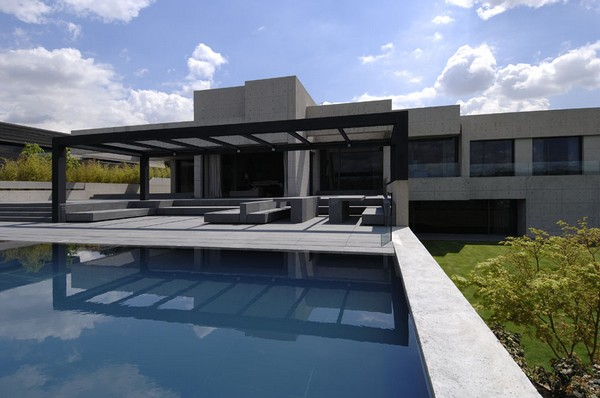 ACERO concrete homeFreshome02 One More Astounding Architecture Project by A cero: CONCRETE HOUSE I