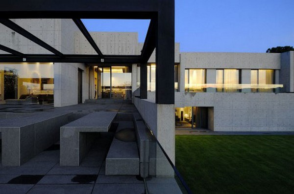 ACERO concrete homeFreshome14 One More Astounding Architecture Project by A cero: CONCRETE HOUSE I