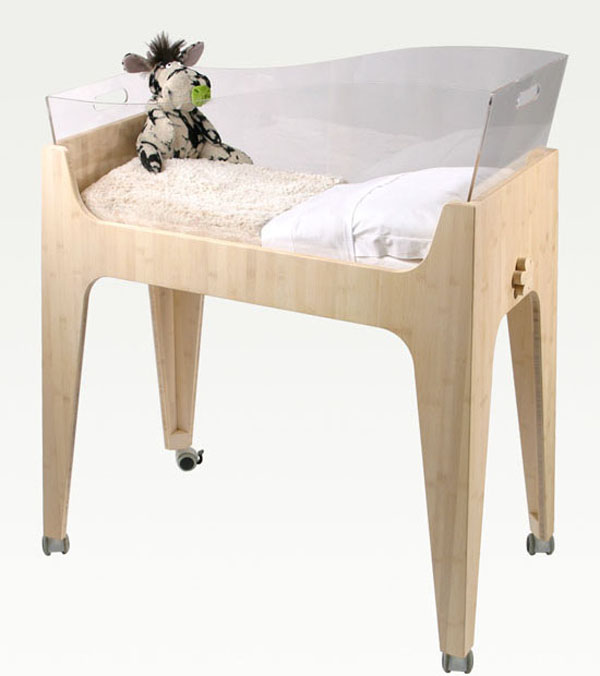 Basinet clear Beautiful and Contemporary Green Children Furniture Collection