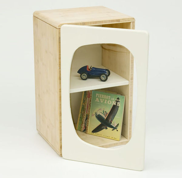 Cabineet Beautiful and Contemporary Green Children Furniture Collection
