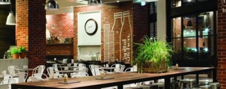 Provocative Mixture of Styles in Capital Kitchen Dining Cafe and Bar