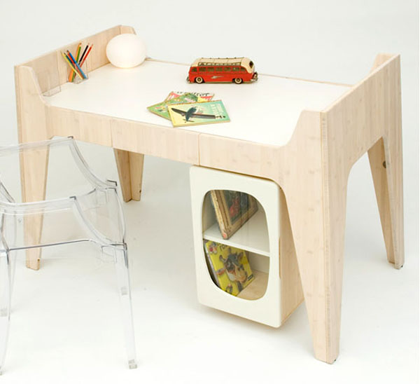 Desk 2 Beautiful and Contemporary Green Children Furniture Collection