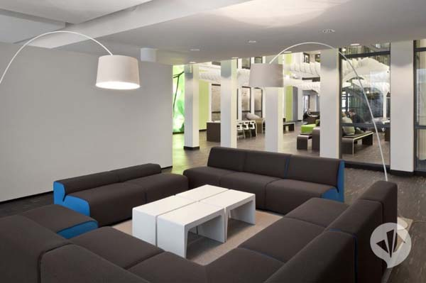 MTV Networks Headquarters 13 Contemporary Redesign for the MTV Networks Headquarters in Berlin