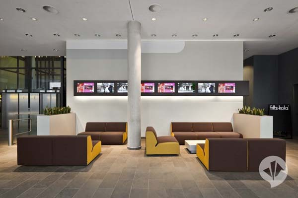 MTV Networks Headquarters 3 Contemporary Redesign for the MTV Networks Headquarters in Berlin