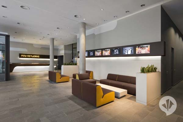 MTV Networks Headquarters 4 Contemporary Redesign for the MTV Networks Headquarters in Berlin
