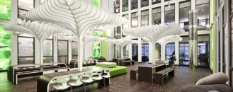 Contemporary Redesign for the MTV Networks Headquarters in Berlin