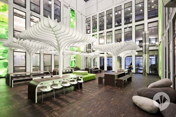MTV Networks Headquarters 7 Contemporary Redesign for the MTV Networks Headquarters in Berlin