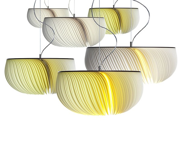 Moonjelly Freshome02 Moonjelly, a Fascinating Pendant Lamp with an Elegant Look