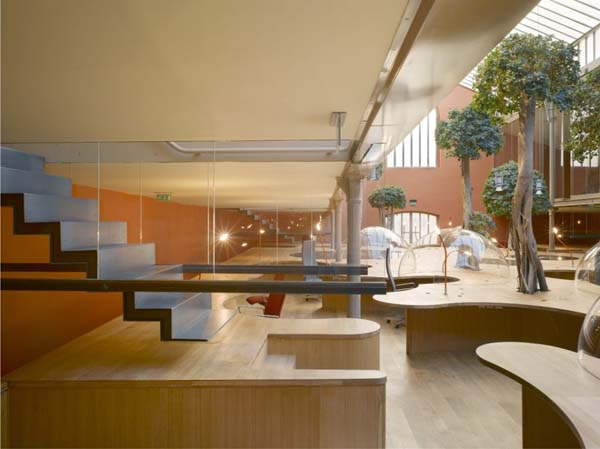 PONS + HUOT Office  Incredible Office Space Abundant in Light and Great Design