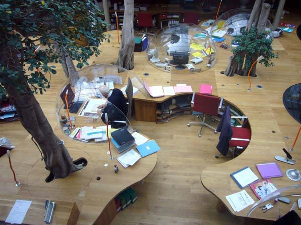 PONS + HUOT Office 24 Incredible Office Space Abundant in Light and Great Design
