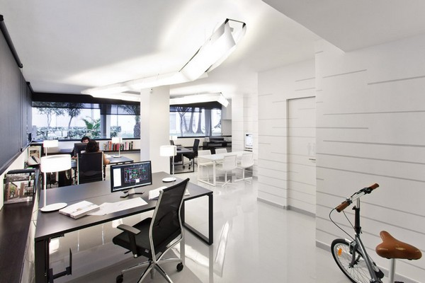 Pablo Serrano 04 Fresh and Modern Office Studio by Dom Arquitectura