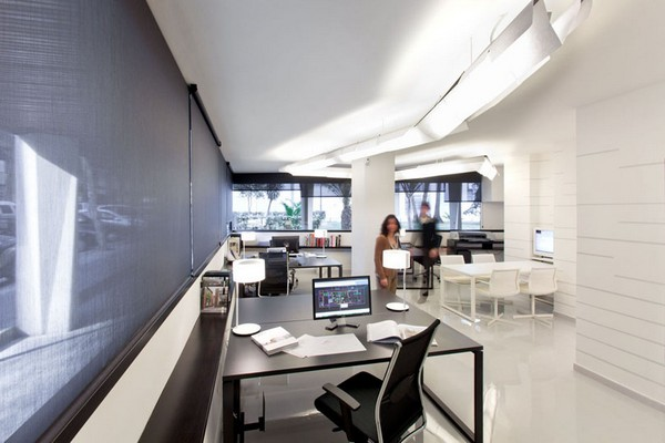 Pablo Serrano 05 Fresh and Modern Office Studio by Dom Arquitectura
