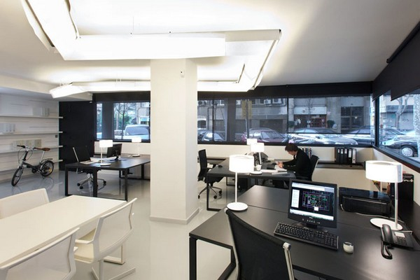 Pablo Serrano 07 Fresh and Modern Office Studio by Dom Arquitectura