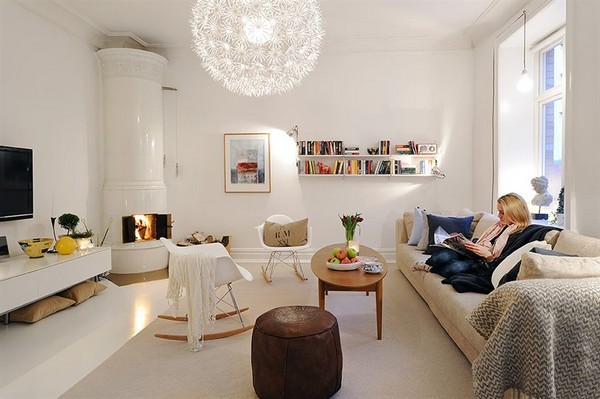 Exceptionally Beautiful Turn Of The Century Apartment In Sweden - Sleek-and-beautiful-apartment-in-sweden