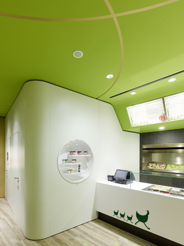 Wienerwald Restaurant Design 4 Fresh Restaurant Design Displaying Bold Natural Colours and Fun Forest Graphics