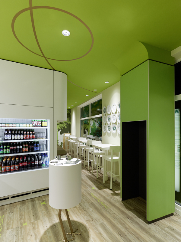 Wienerwald Restaurant Design 5 Fresh Restaurant Design Displaying Bold Natural Colours and Fun Forest Graphics