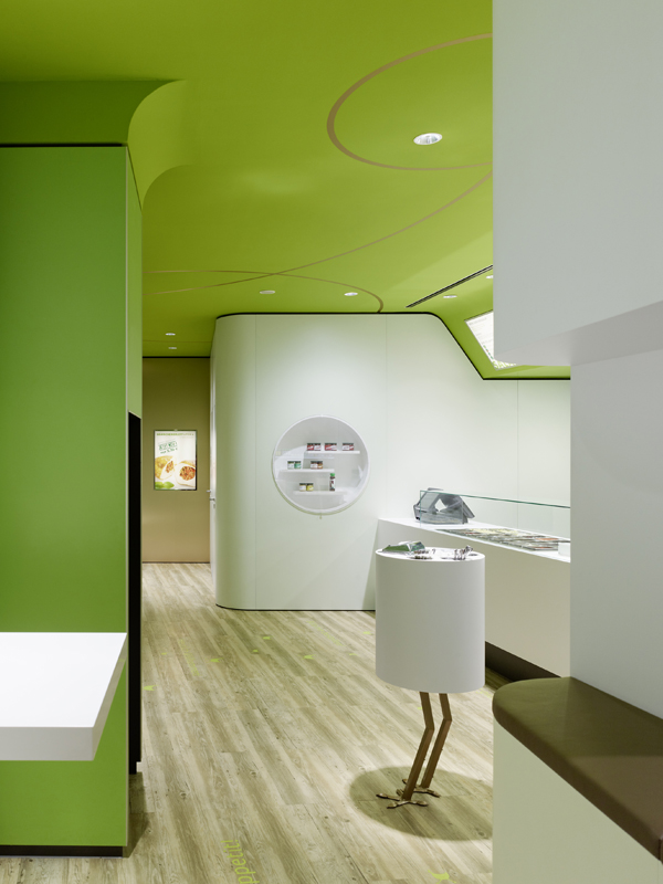 Wienerwald Restaurant Design 6 Fresh Restaurant Design Displaying Bold Natural Colours and Fun Forest Graphics