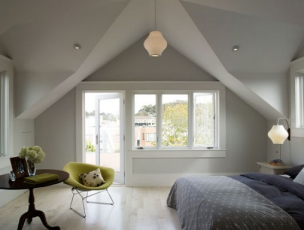 How to Create a Master Bedroom in your Attic | Freshome.com