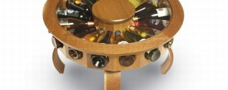 An Elegant Way to Cherish Your Wine Collection: Don Vino Table