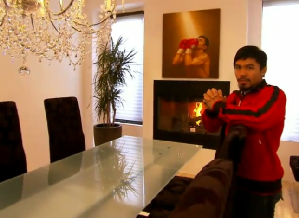 Manny Pacquiao's Home at MTV Cribs: Enjoy the Tour! [Video]