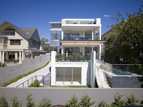 DKO BellevueHill Freshome 03 Charming Games of Light and Shade: Bellevue Hill Residence in Sydney