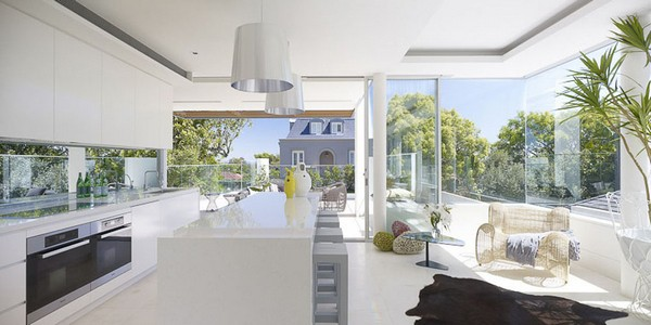 DKO BellevueHill Freshome 08 Charming Games of Light and Shade: Bellevue Hill Residence in Sydney