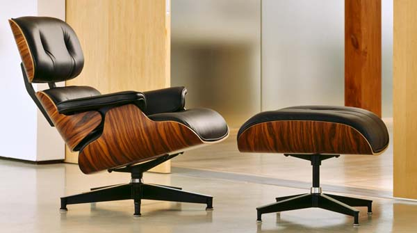 Released In 1956 The Eames Lounge Chair And Ottoman