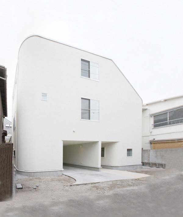 Nakameguro House by LEVEL Architects 2 Magnificent Childhood Inspired Residence: the Slide by LEVEL Architects