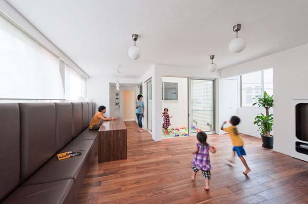 Nakameguro House by LEVEL Architects 5 Magnificent Childhood Inspired Residence: the Slide by LEVEL Architects